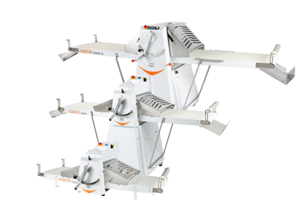Catalog of our machines and mixers for the bakery Dough sheeter Stratus