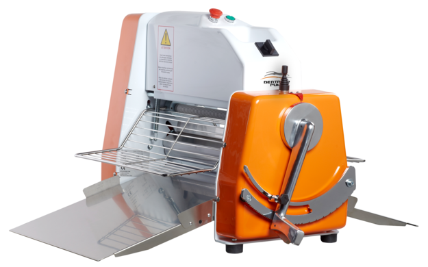 Catalog of our machines and mixers for the bakery Dough sheeters