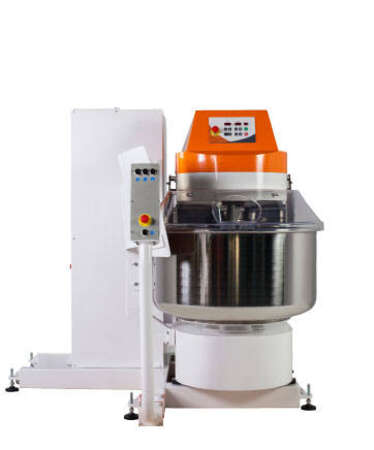 Catalog of our machines and mixers for the bakery SPI tilting elevator ( Self tilting spiral mixers )