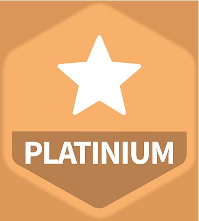 logo de la gamme Platinium